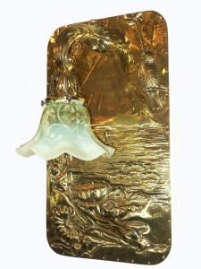 Antike Wandlampe W-A03