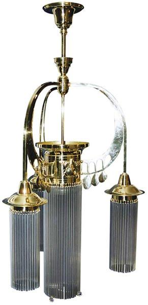 jugendstil luster mit glasst bchen antike jugendstil lampen. Black Bedroom Furniture Sets. Home Design Ideas