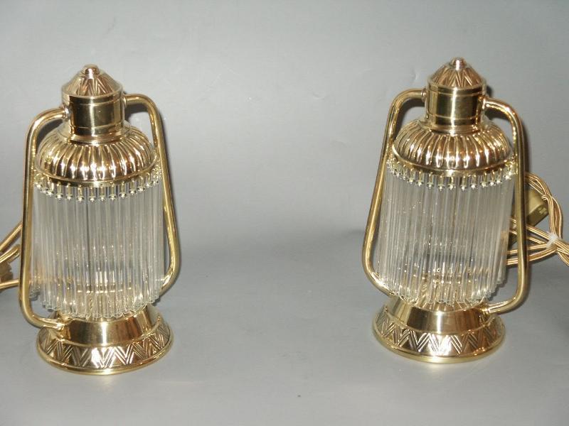 Antike Jugendstil Tischlampen TA-56