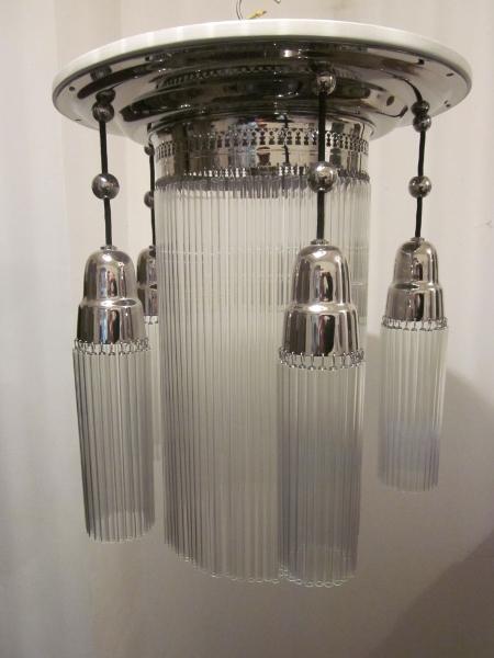 Antike Jugendstil Deckenlampe DA-14