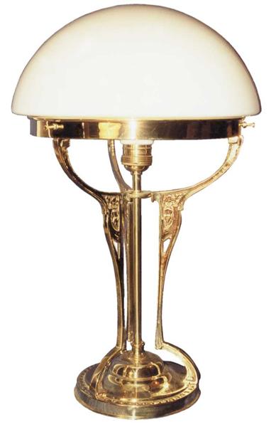 Jugendstil Tischlampe - T12