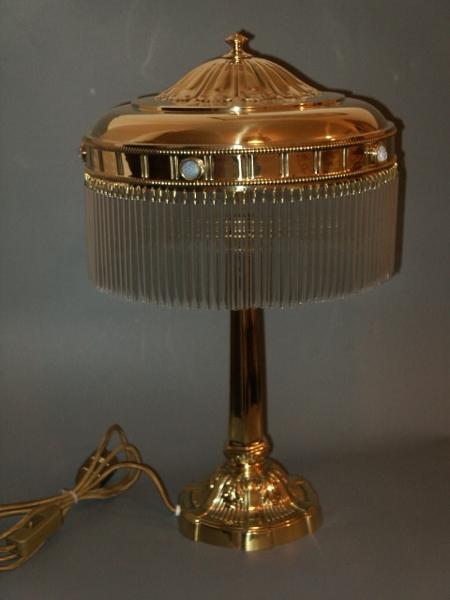 Tischlampe antik antike jugendstil lampen for Lampen antik